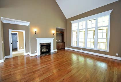 Wood Flooring can renew a tired room