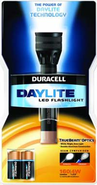 Duracell Daylite CR123 Flashlight