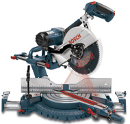 Bosch 5412L Dual-Bevel Slide Miter Saw
